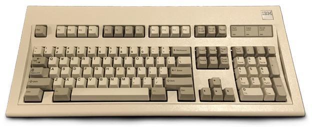 IBM teclado mecánico XT