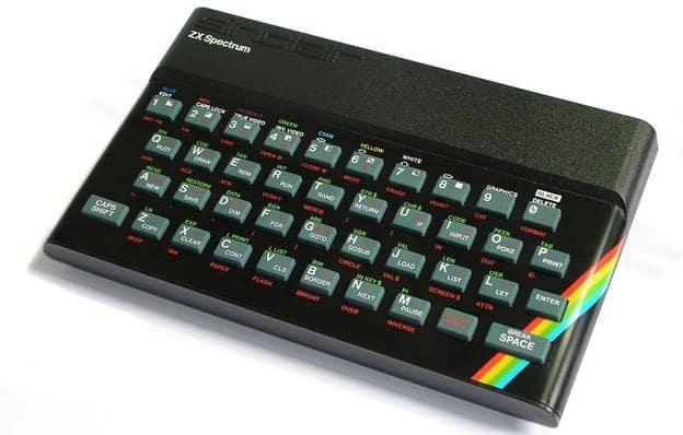 ZX Spectrum teclado goma